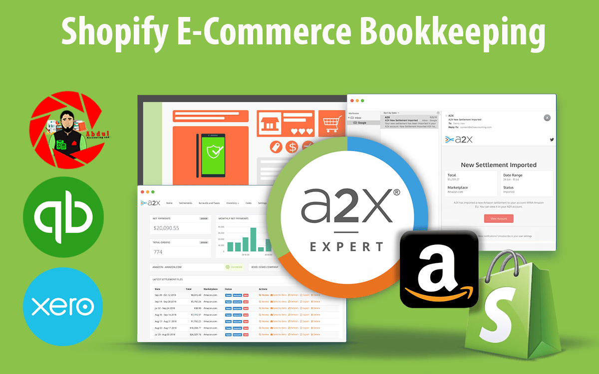 Shopify Bookkeeping: How A2X Will Help You Simplify Your Shopify Business