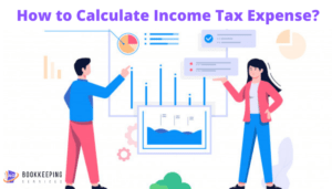 how to calculate income tax expense