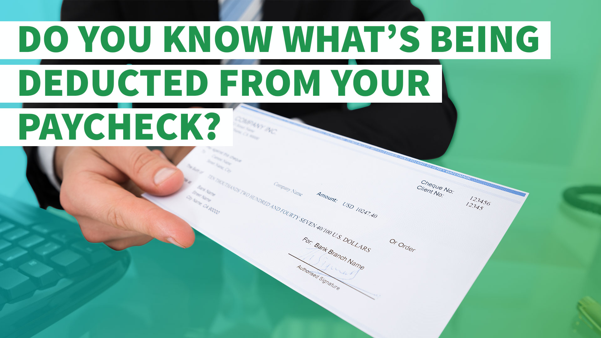Why was no federal income tax withheld from my paycheck?